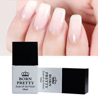 BORN PRETTY 10ml Gellack Opal Jelly Gel White Soak Off UV Gel Polish Maniküre