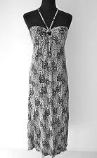 au womens boho maxi dress paisley size 10 new