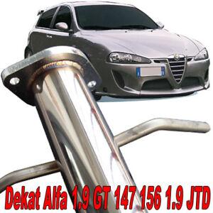 Alfa Romeo 1.9 Jtd 147 156 GT > 115 120 140 150 170 ps tubo Downpipe Dekat T12