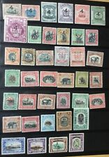North Borneo Early All Mint Collection on stock sheet fine condition UM/ MH/ MNG