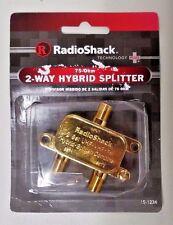 15-1234 2-Way Hybrid Coax Splitter (75-Ohm)