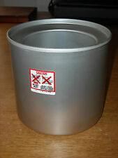 Donvier Premier or Chillfast 1-Quart Ice Cream Maker Canister Cylinder Part