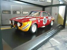 ALFA ROMEO GTA 1300 Giulia Paul Ricard#40 1971 Picci Chaus DIV 1 Minichamps 1:18