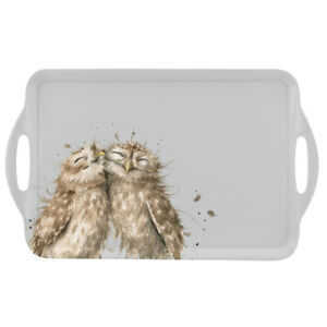Wrendale Large Tray Owls Themed with Handles 48cm x 29.5cm from Pimpernel