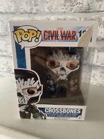 Crossbones funko pop from Marvel Civil War film #134