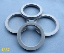 /> 58,1mm hubcentric spigot rings anillos centradore 4 Felgen Zentrierringe 72,5