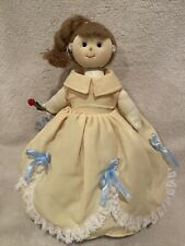 Beauty & The Beast Tell A Story Topsy Turvy Doll 3:1 Almas Designs