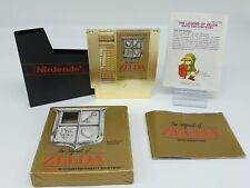 The Legend Of Zelda Europa Version Small Box Nintendo NES Complete With Map