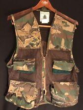 Northwest Territory Size Medium Camo Mesh Hunting Shooting Vest Shell Loops
