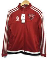 Adidas Women's Tiro 15 Training Jacket FC Europa Soccer Athletic Zip Up Size Med