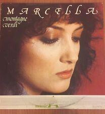LP MARCELLA  MONTAGNE VERDI LSM 1053 VG/EX ITALY PS 1984  RAI