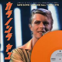 David bowie THE NHK HALL TOKYO 1978  orange vinyl lp ltd / 235 rare live show