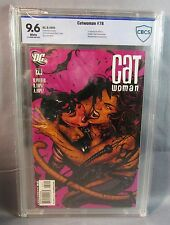 CATWOMAN #78 (Adam Hughes Cover) White Pages CBCS 9.6 NM+ DC 2008 cgc