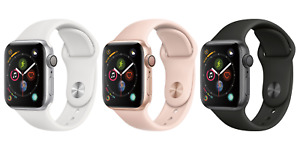Apple Watch Series 4 🍎 WiFi + GPS 40mm Aluminum Case w/ Sport Band ⌚ Smartwatch