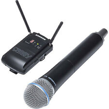 Samson Concert 88 Camera Handheld UHF Wireless System for Video - Frequency K