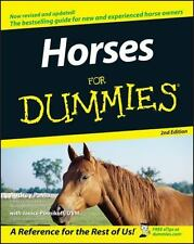 Horses for Dummies® by Audrey Pavia and Janice Posnikoff (2005, Paperback, Revis