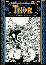 Walter Simonson Thor Return of Beta Ray Bill IDW Artist Edition HC SEALED NEW