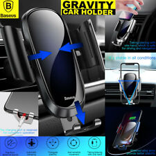 Universal Gravity Car Mount Dashboard Holder Cradle for Cell Phone GPS Samsung for iPhone 7 Black
