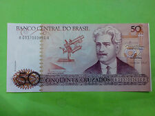 Brasil 50 Cruzeiros 1988 (GEM UNC) AA