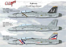 CAM PRO DECAL, 1/48 SCALE, P48-015, F/A-18F SUPER HORNET, VFA-103, 106, 2