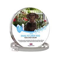 Dog Flea Collar NEW 2020 formula [8 months] safe tick and bug treatment