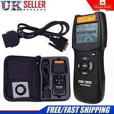D900 Car Diagnostic Scanner CAN OBD2 EOBD Scan Tool Engine Fault Code Reader UK