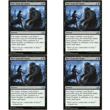 4 x RISE FROM THE GRAVE NM mtg Eldritch Moon Black - Sorcery Unc