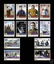 South Georgia 2009 Shackleton Defs SG 467/78 MNH