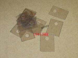 50PCS TO-220 Transistor Mica Insulator 18*13MM