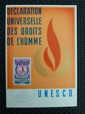 FRANCE MK 1969 UNESCO MAXIMUMKARTE CARTE MAXIMUM CARD MC CM c2709