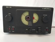 Hallicrafters S-38B Shortwave Ham Radio Receiver  Works!