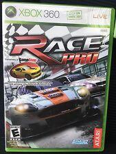 Race Pro (Microsoft Xbox 360, 2009) Complete