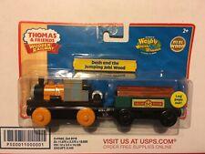 DASH & THE JUMPING JOBI WOOD LOG Thomas & Friends WOODEN Railway BRAND NEW BOX