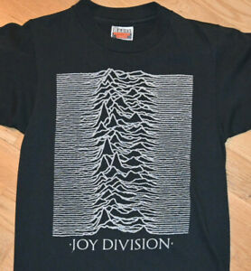 *1980's JOY DIVISION* vtg rare concert tour tee t-shirt (S) 70's 80's New Order