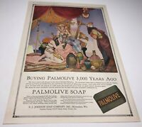Vintage Ladies Home Journal PALMOLIVE SOAP Advertisement July, 1917 Egyptian