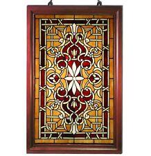 Tiffany Style Stained Glass Classic Window Panel HF-202 32x20 SunCatcher NEW