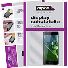 6x Acer Liquid Z6 Plus Schutzfolie klar Displayschutzfolie Folie dipos