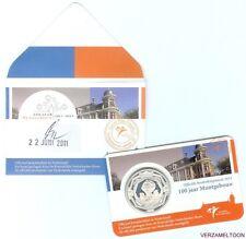 EERSTE DAG UITGIFTE 5 EURO NEDERLAND 2011: 100 JAAR MUNTGEBOUW