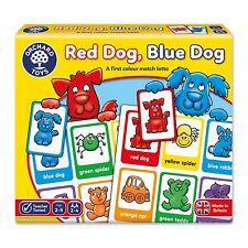 Red Dog, Blue Dog-Orchard Toys juego educativo que empareja