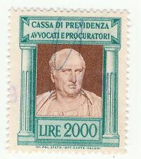 CASSA DI PREVIDENZA AVVOCATI E  PROCURATORI - LIRE 2000 - 1956 (e)
