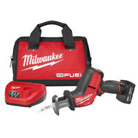 Milwaukee 2520-21XC M12 FUEL 12-Volt HACKZALL Reciprocating Saw w/ Battery