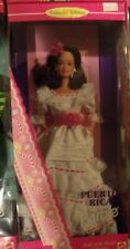 1996 PUERTO RICO Barbie Dolls of the World Collectors Edition