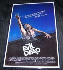 The Evil Dead 11X17 Movie Poster Ash Original version