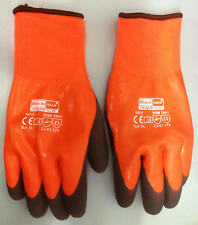 Thermal Car Wash Gloves 9 L Waterproof High Grip Insulated Glove Agricultural