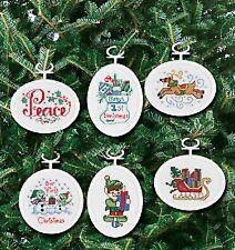 Janlynn Christmas/Holidays Cross Stitch Kits