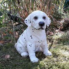 Dalmatiner Welpe sitzend Gartenfigur Gartendekoration Hund Hunde Tiere 4693