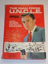 MAN FROM UNCLE U.N.C.L.E. 1966 BRITISH ANNUAL WORLD DISTRIBUTORS HARDBACK<