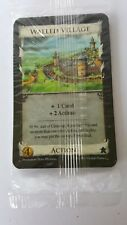 """DOMINION  """"WALLED VILLAGE """" OOP EXPANSION FACTORY SEALED  RIO GRANDE GAMES PROMO"""