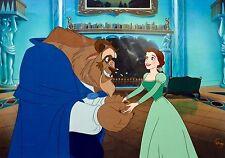 Disney Beauty And The Beast cel Heartfelt Gift rare animation art edition cell