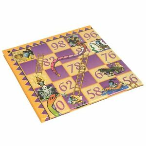 Snakes And Ladders Traditional Board Game Set Classic Family Fun Kids Adult Toy